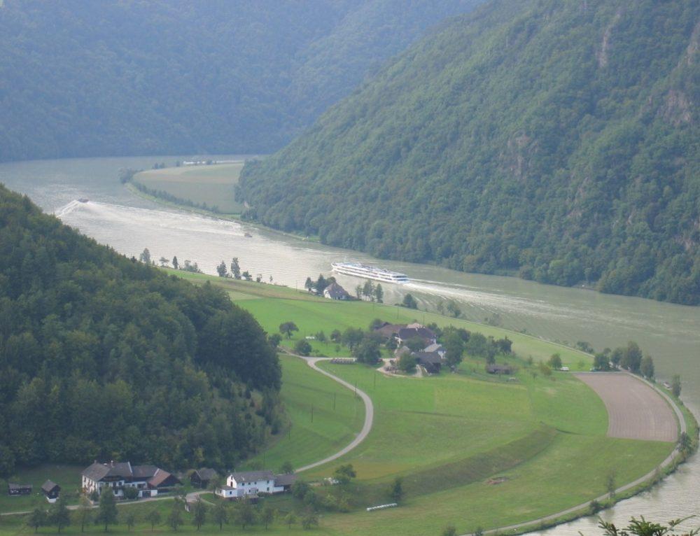 Día 3: Etapa en bicicleta Passau-Schlögen(46,5 km)