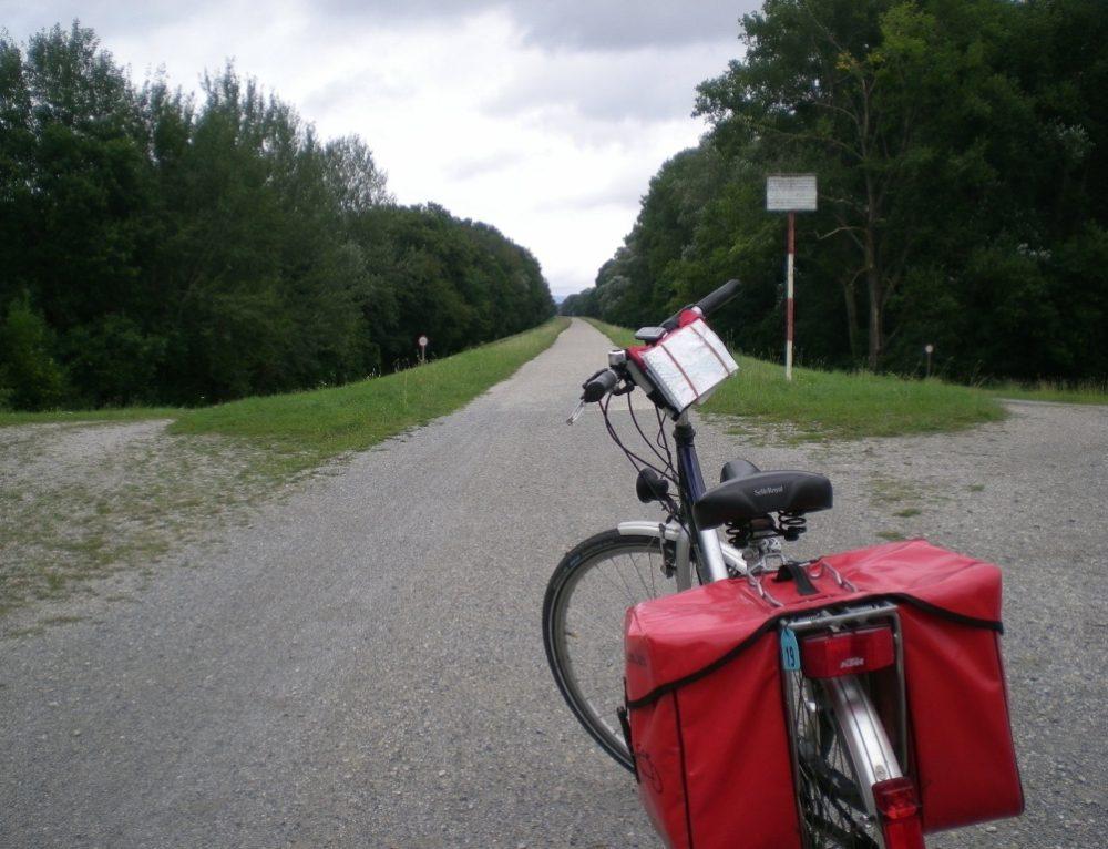 Día 2: Etapa en bicicleta Viena-Petronell (62 km)