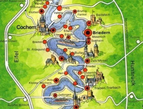 La Ruta Enológica del Río Mosela, de Trier a Coblenza