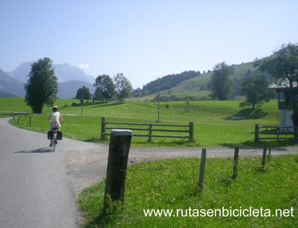 Día 2: Etapa en bicicleta  Krimml – Mittersill (33 km aprox)