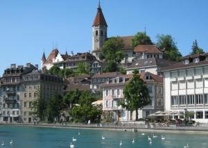 viajes en bicicleta por Suiza