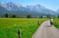 Viajes en bicicleta. Parque Nacional Tauern