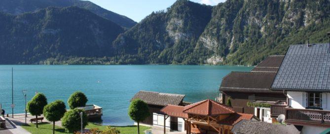 Lago Attersee. Austria