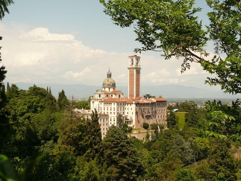 Vicenza iglesia de Santa Maria di Monte Berico