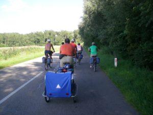Ruta en bicicleta.Linz-Grein