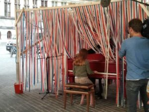 "Proyecto musical. ""1,2,3 piano"". Gante"