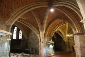 Cripta de la catedral de San Bavón. Gante