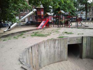 Brujas. Koningin Astridpark (Parque de la Reina Astrid).