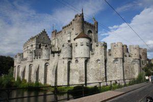 Castillo de los Condes de Flandes. Gante