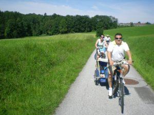 Carril bici de Salzburgo a Attersee