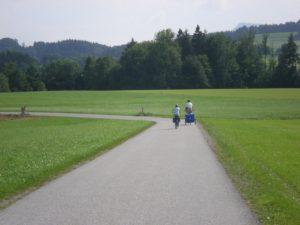 Viaje en bicicleta desde Salzburgo al lago Attersee