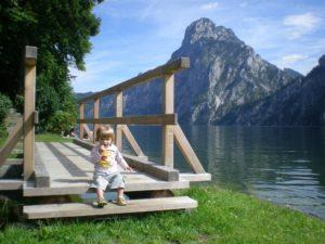 Embarcadero de Traunkirchen. Lago Traunsee