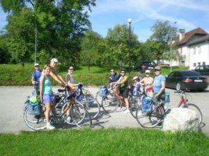 Comenzamos con la ruta en bicicleta por los lagos de Austria.