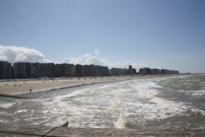 """Blankenberge desde el """"Belgium Pier"""""""