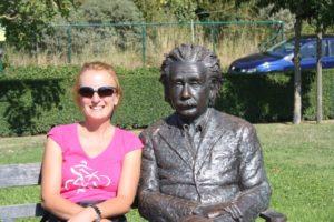 Compartiendo vistas con Albert Einstein