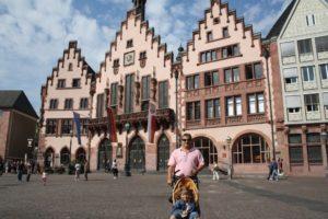 Plaza de Römemberg. Frankfurt