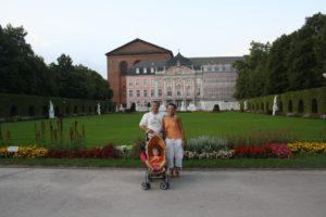 Palacio electoral y jardines. Tréveris