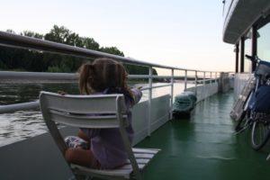Disfrutando de las vistas desde el barco