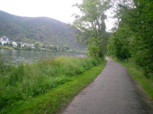 En bici a Trier-Karden. Margen derecho Mosela