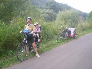 Viaje  en bici de Zell aTrier-Karden.