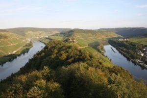 Vistas desde Torre Prinzenkopf. Maurienburg. Mosela