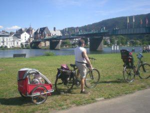 Viaje en bici de Zeltinger a Zell.