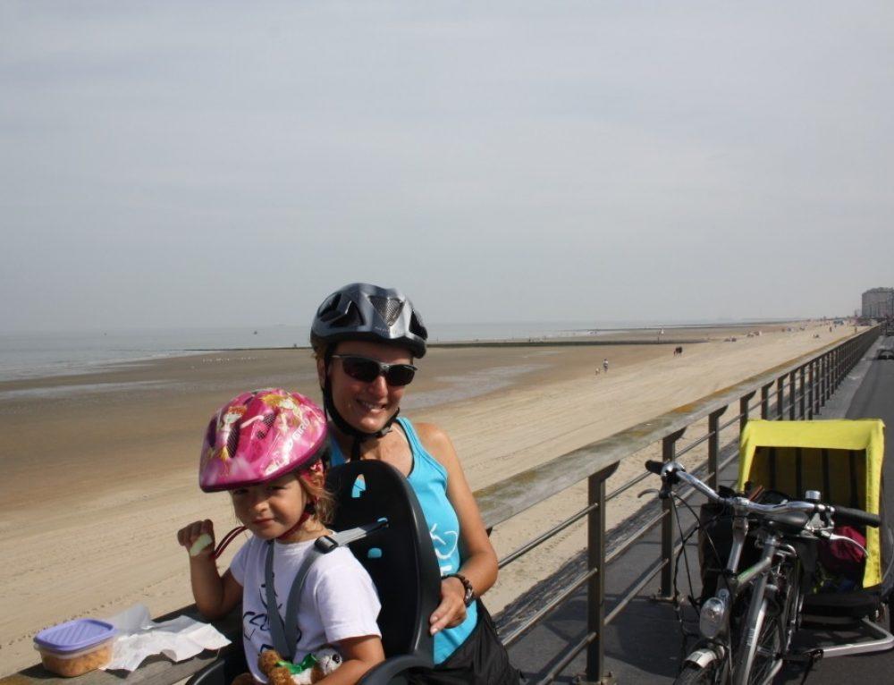 Día 8.  Ruta circular en bicicleta desde Oostende- Nieuwport- Oostende. (41km)