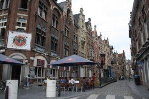 Patershol, centro medieval de Gante