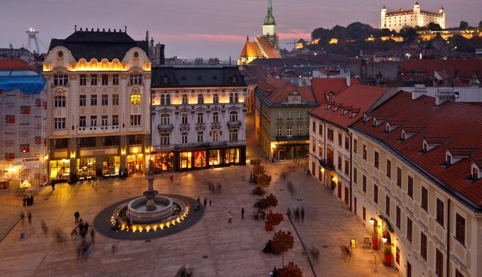 viajes en bicicleta por Eslovaquia
