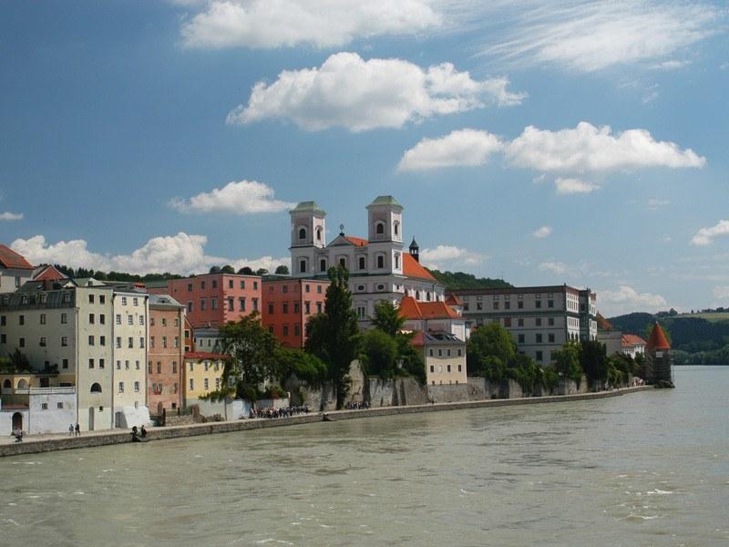 Passau am Inn, Ciudad Vieja