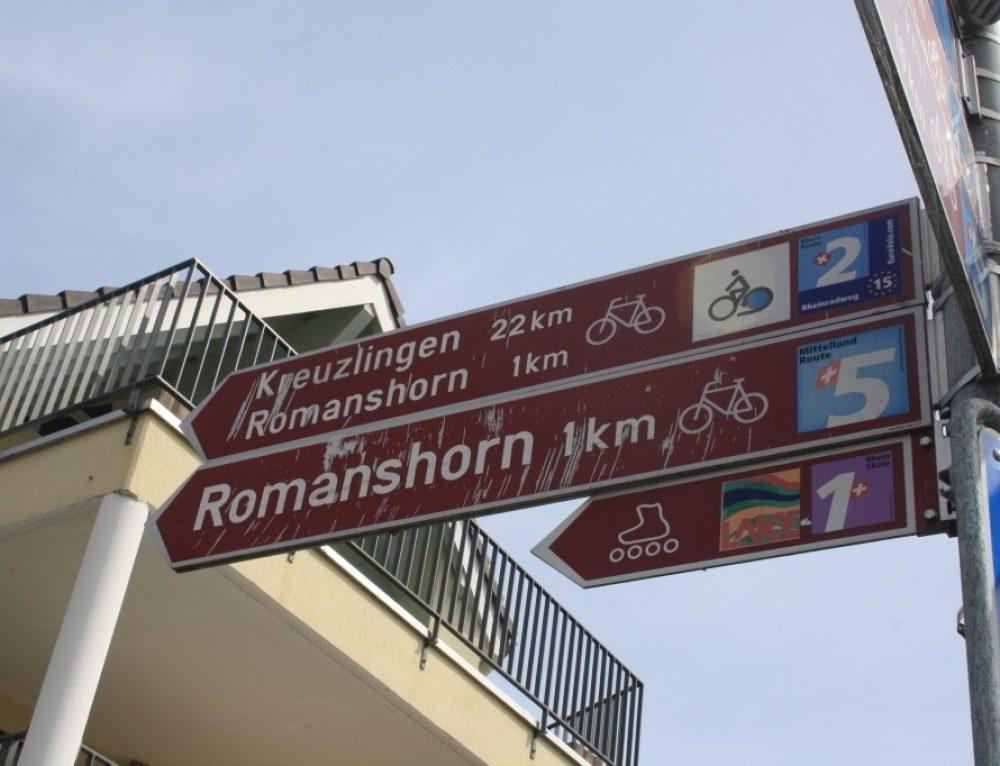 Día 7. Etapa en bicicleta: Arbon- Constanza (35 km)