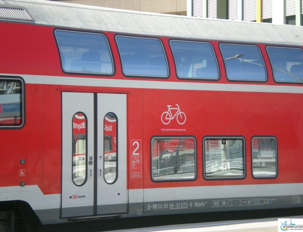 Cómo llevar una bicicleta en tren cuando vamos de viaje