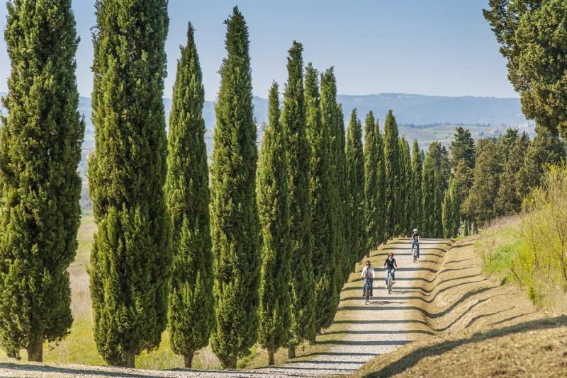 Toscana en bicicleta